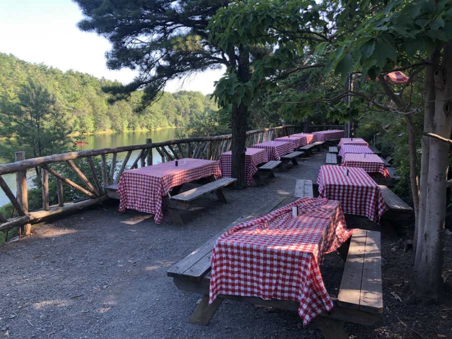 Mohonk Mountain House day pass, the Granary restaurant