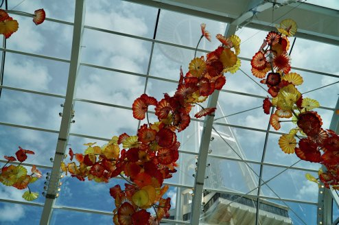 Exploring the Chihuly Glass and Garden museum in Seattle