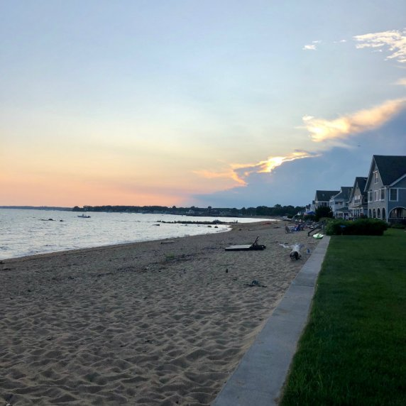 Madison-CT-sunset