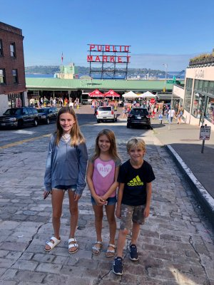 Things to do in Seattle with kids, Pike Place Market
