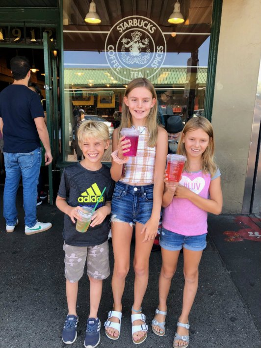 Things to do in Seattle with kids, the Original Starbucks