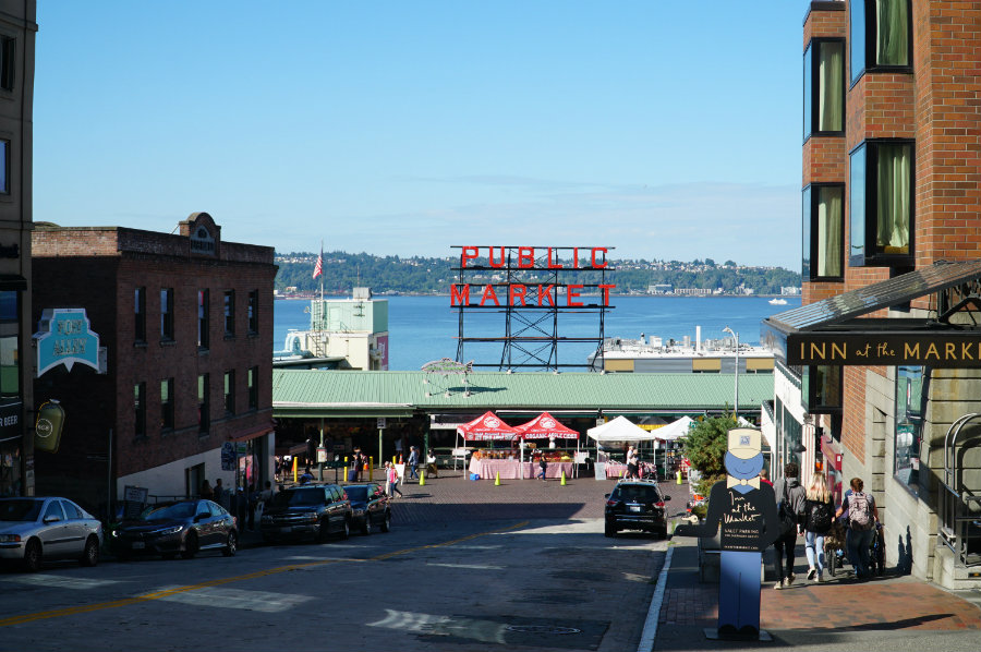Things to do in Seattle with kids - Pikes Place market