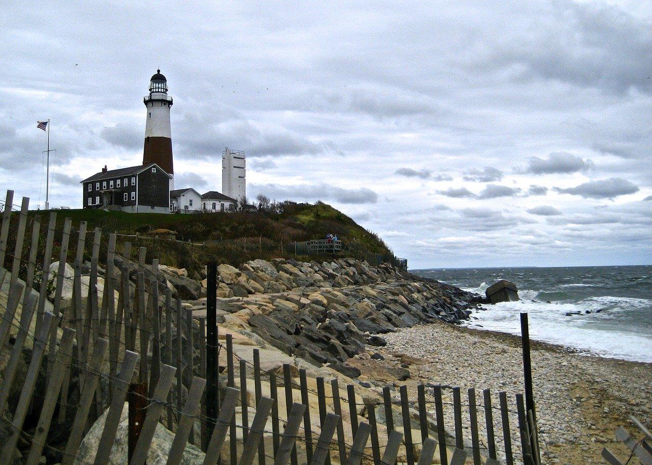Montauk Lighthouse in Montauk, NY
