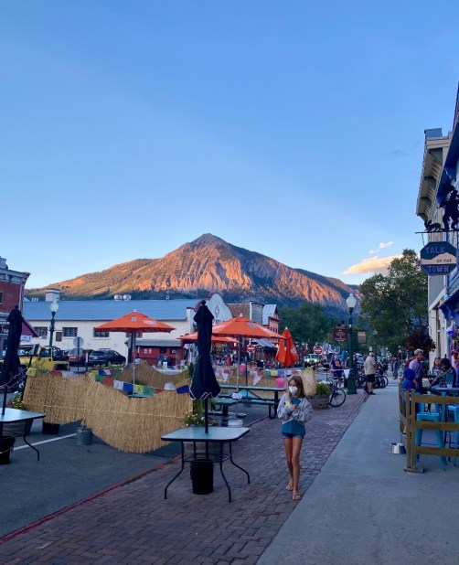 Sunset in Crested Butte Colorado