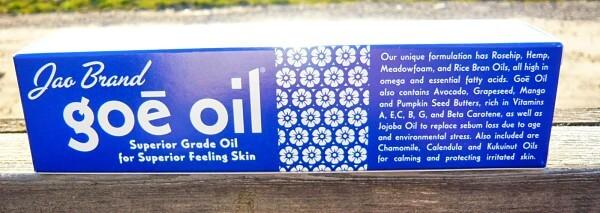 Goe Oil JAo Brand Fifi Friendly