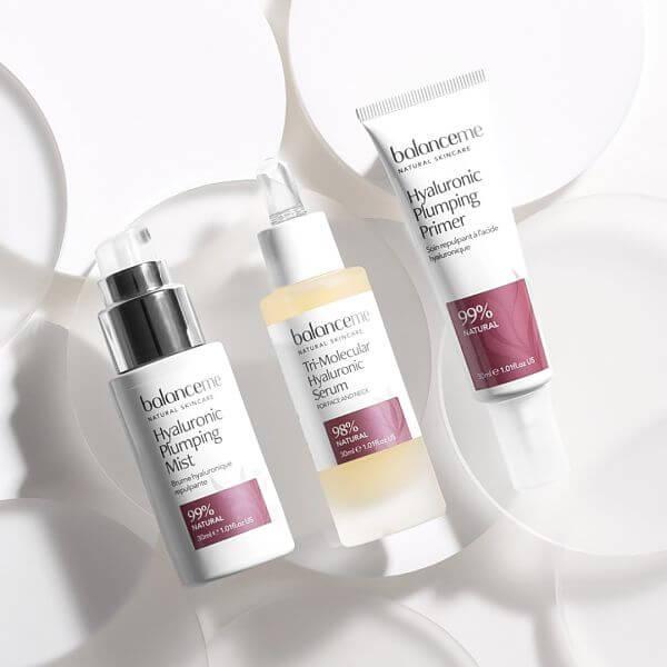 balance me hyaluronic hydration skin