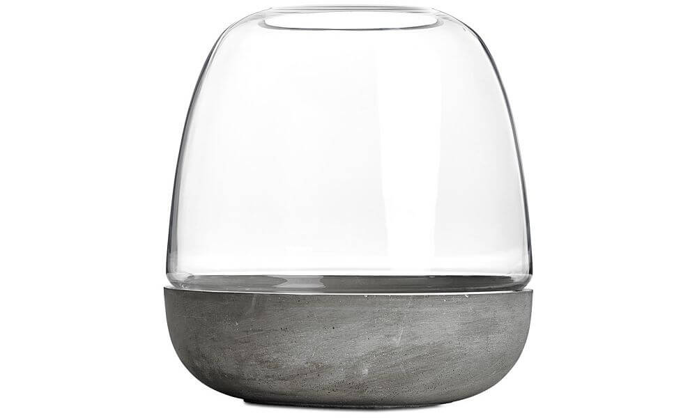 Boconcept combi vase concrete and glass