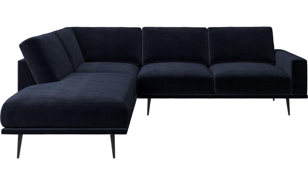 CArlton Boconcept sofa velvetnavy