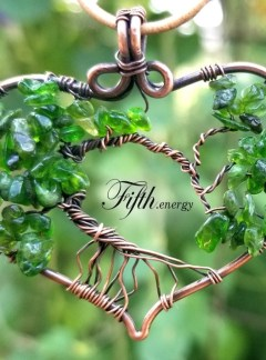 Chrome Diopside Tree of Life