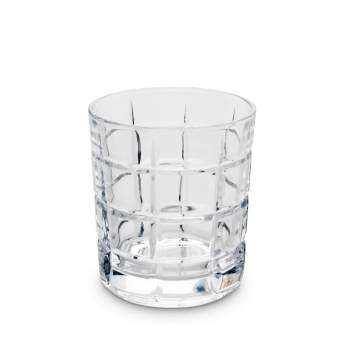 Rothko Double Rocks Glass - modern style