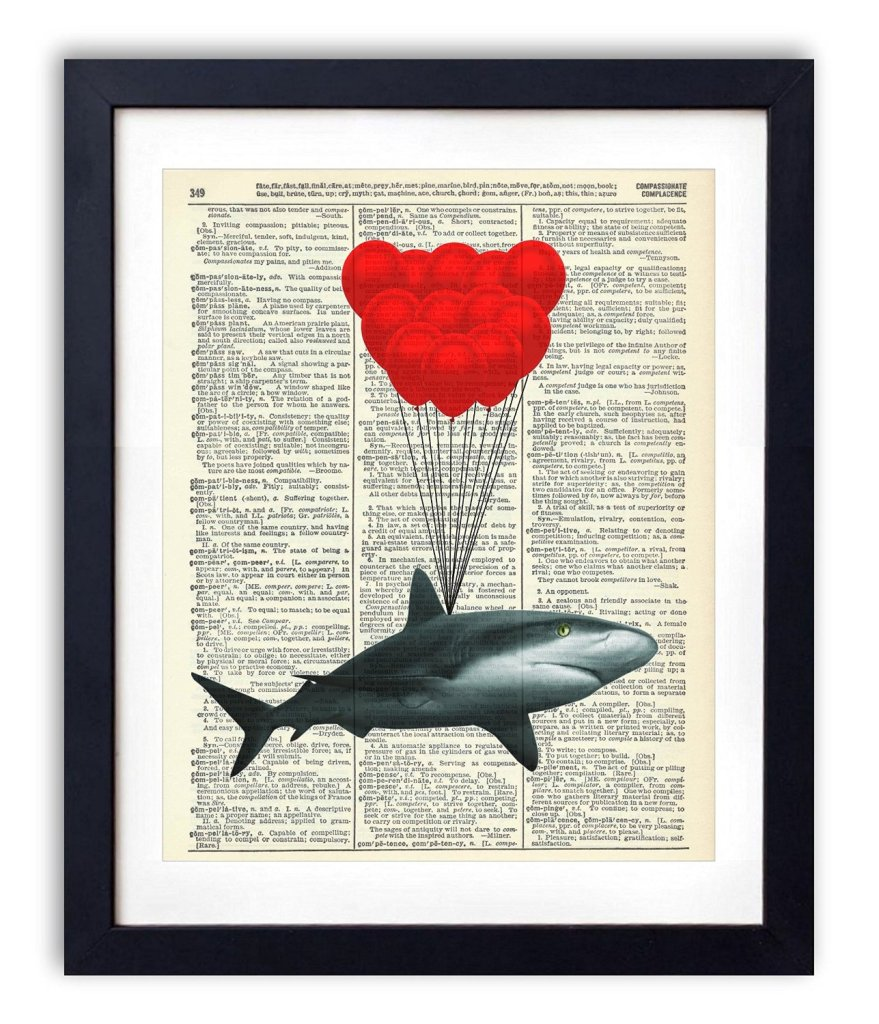 Shark With Balloons, check it out on amazon amzn.to/29KUYSF