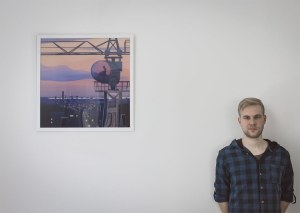 Polish artist Marcin Wolski