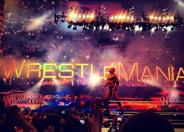 The_Rock_celebrating_Wrestlemania_28