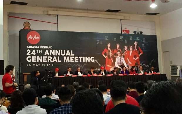AirAsia Berhad Annual General Meeting