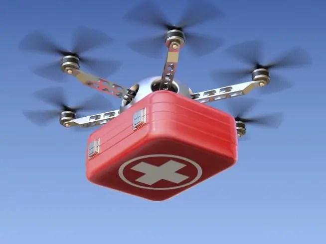 Medical Drone Delivery Zipline Ghana