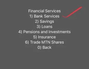 Transfer Mtn mobile money number to account number