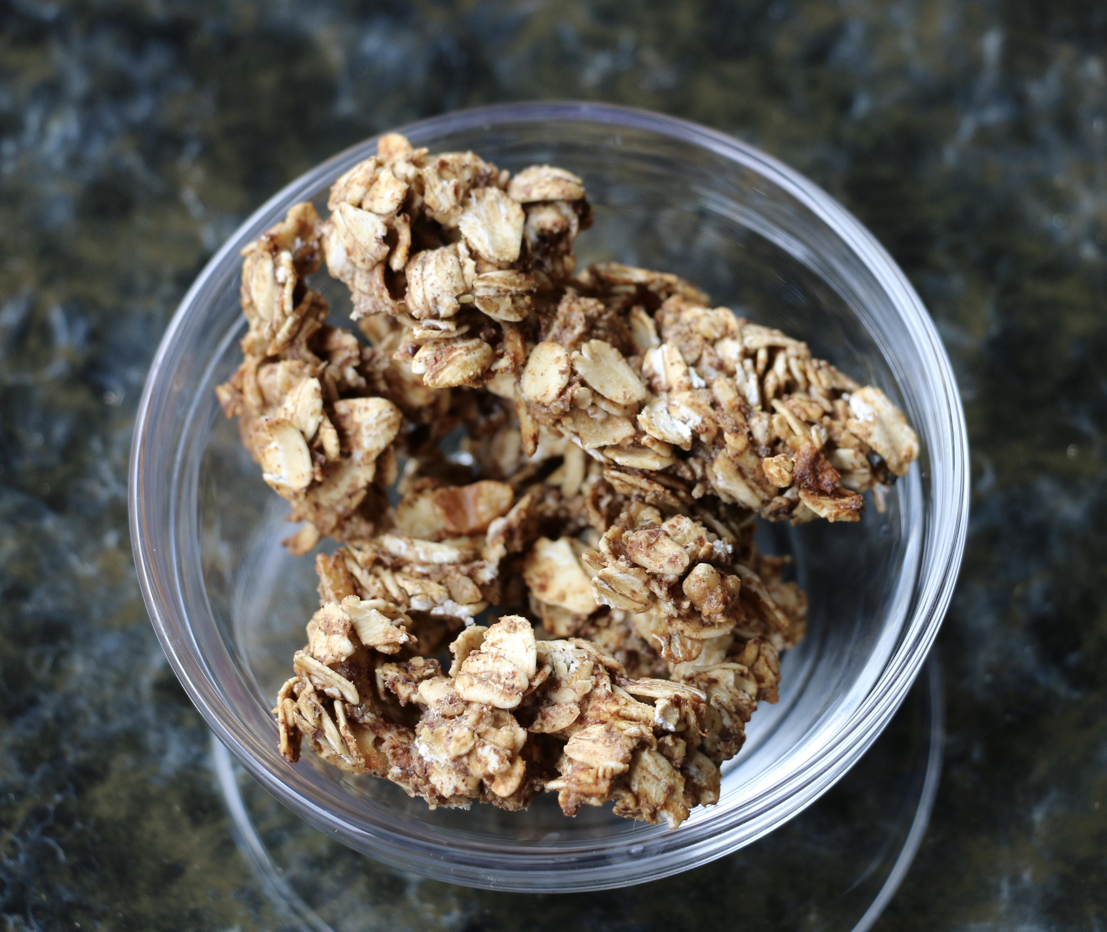 Recipe- Sugar & Oil Free Granola