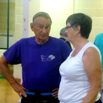 Bob McDougall (Tai Chi Instructor) and Catherine Condron