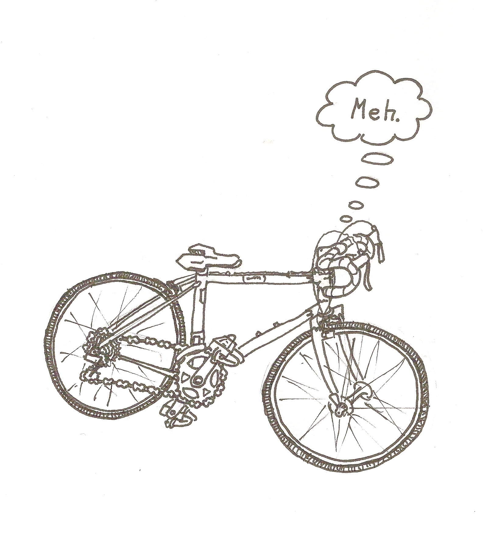 The Bike Doesn T Care
