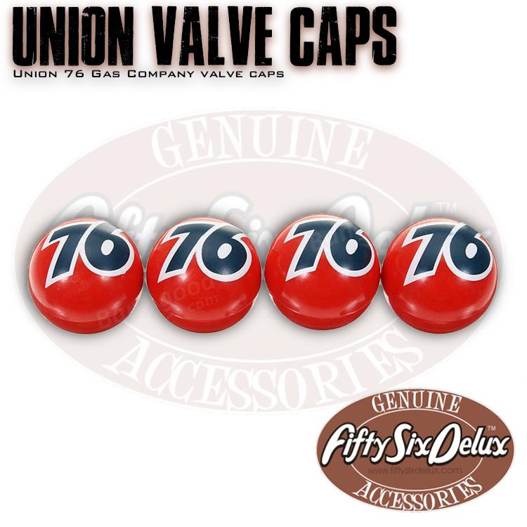 Union 76 Valve Caps