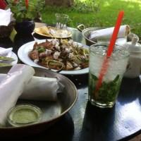 Borage Tea with Saffron Nabat, Lemon Mint Sekanjabin, Persian ice cream & Loads of Charm | A Cafe in Tehran