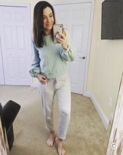 When Valentine's falls on a Friday, it's going to be a great day!! ?? Feeling cozy and cute in this puff sleeve sweatshirt and literally the softest sweatpants ever!! ?? I'm thankful for my family, friends and all of you!! Thanks for showing me so much love and support! ?? * * http://liketk.it/2KkLD @liketoknow.it #liketkit #LTKunder100 #LTKstyletip #LTKunder50 #LTKsalealert Screenshot or 'like' this pic to shop the product details from the LIKEtoKNOW.it app, available now from the App Store! Follow FigAndRoses ?? * * @loveloft_pittsburgh @targetstyle @target @loft #loftimist #loveloft #targetstyle #casualfriday #valentines2020 #happyfriyay #pittsburghblogger #momblogger #momfashion #wiwt #comfyandcute #figandrosesblog #figandrosesstyle #loveisintheair #lovefigandroses