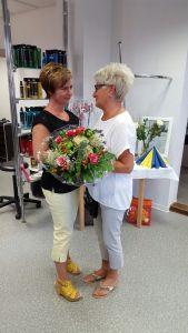 Frau Sommerfeld Gratuliert