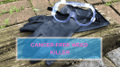photo of gloves and goggles - cancer free