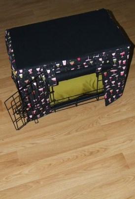 Custom Dog Crate Pillow and Bumper Pads