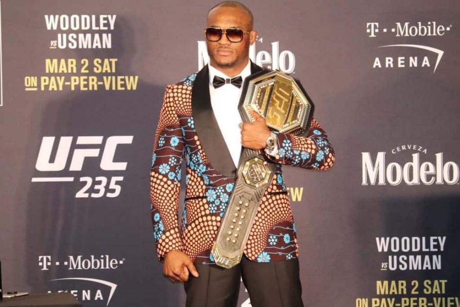 UFC welterweight champion, Kamaru Usman