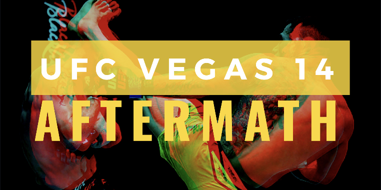 aftermath fights to make UFC Vegas 14