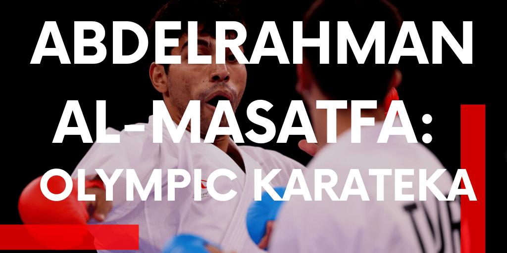 Abdelrahman_AlMasatfa_Olympic_karateka