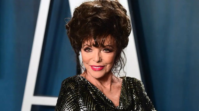 Joan Collins appeared on U.K.'s 'Lorraine' where she detailed her past appearances at the Oscars.