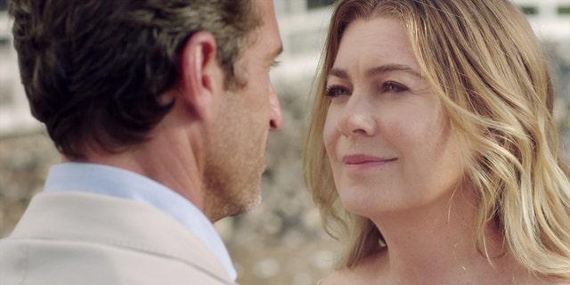 Dr. Derek Shepherd (Patrick Dempsey) reunited with his wife Meredith Grey (Ellen Pompeo) during Season 17.
