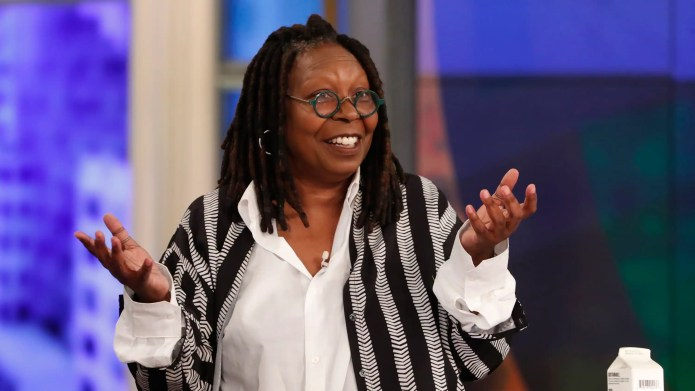 Goldberg said she isn't yet ready to relinquish her coveted seat at 'The View.' (Walt Disney Television/Lou Rocco)