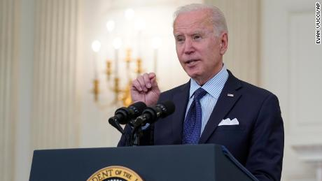 Biden sets goal of administering at least one Covid-19 vaccine shot to 70% of US adult population by July 4