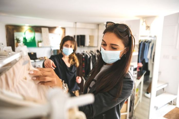 Wearing a mask can offer protection against respiratory illnesses when you're in close proximity to others.