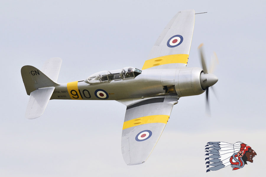 Hawker Sea Fury T-20