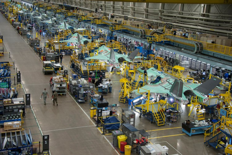 Lean Manufacturing in Aerospace Industry, Lean Manufacturing, FIGHTER JET METALS