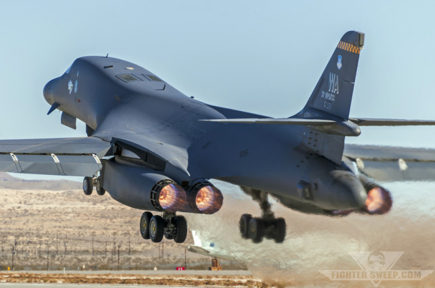 The flagship B-1B Lancer - Weapons School