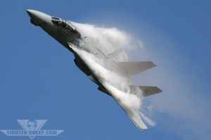 Buzzing The Tower In An F-14 Tomcat!
