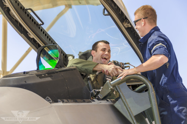 "Lieutenant Colonel Ronald ""Fangs"" Gilbert, F-22A Raptor Instructor Pilot - U.S. Air Force Weapons School"