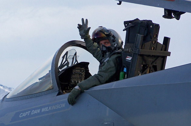 Moose Fontenot: Husband, Father, Fighter Pilot