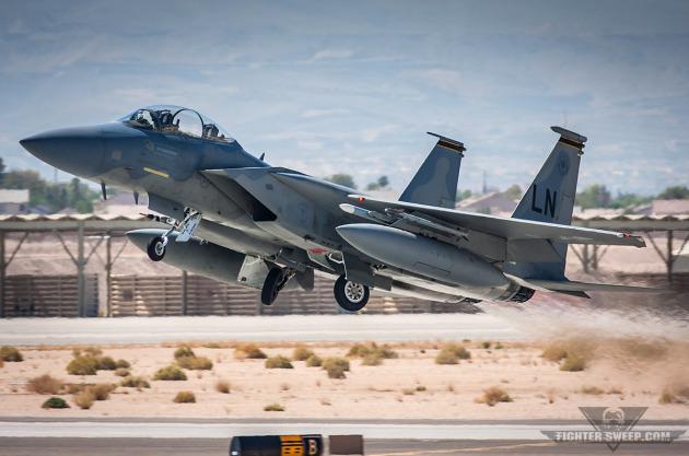 F-15D 493d FS - RAF Lakenheath