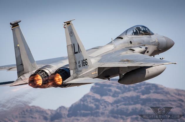 F-15C 493d FS - RAF Lakenheath