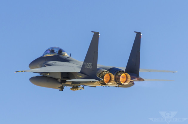 Burner Friday: Boeing F-15K SLAM Eagle