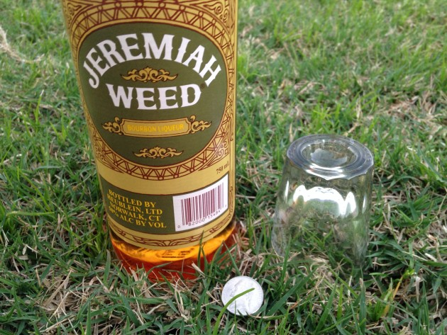 The 100-proof Liqueur Jeremiah Weed, a mainstay in Fighter Pilot Culture.
