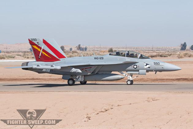 EA-18G 166858 KNJK