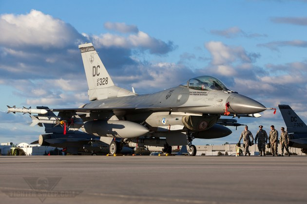 Washington DC Air National Guard's 113th Wing Responds to 5,000th Alert!