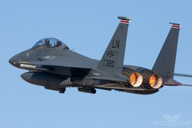 Burner Friday: 494th FS F-15E Strike Eagle